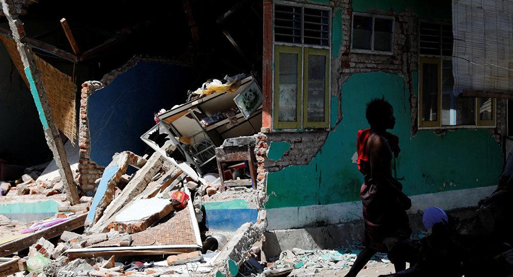 La isla de Lombok de Indonesia tras el terremoto