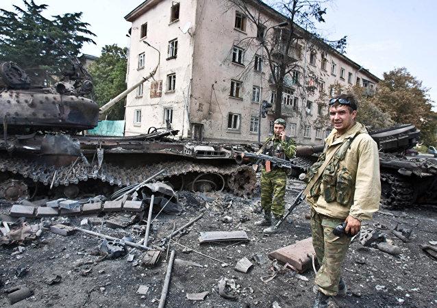 La guerra de Osetia del Sur (archivo)