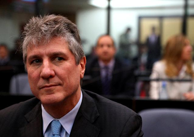 Amado Boudou, exvicepresidente argentino