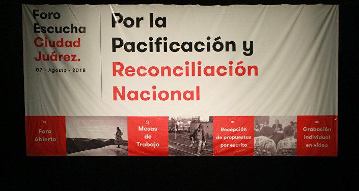 Foro de Consulta para una ruta de pacificación nacional en México