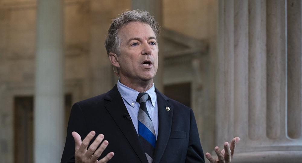 Rand Paul, el senador republicano estadounidense