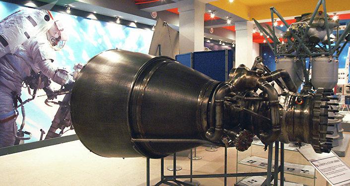 Motor de cohete RD-180 (archivo)