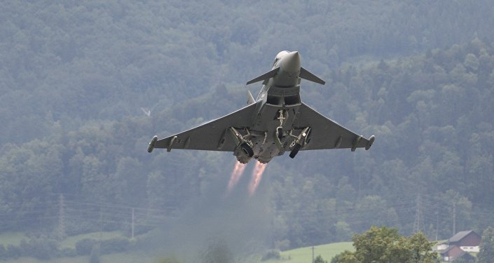 Eurofighter Typhoon (imagen referencial)