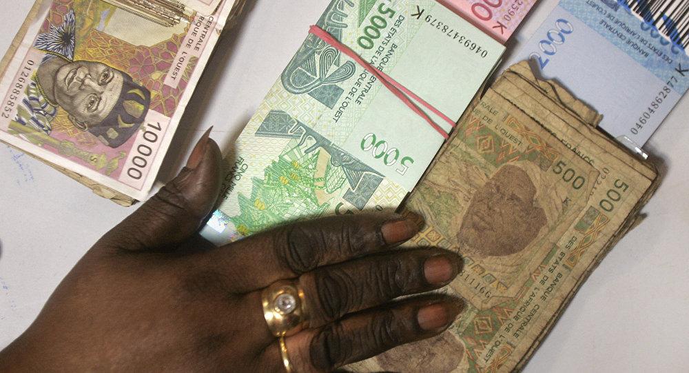Billetes de banco de Senegal