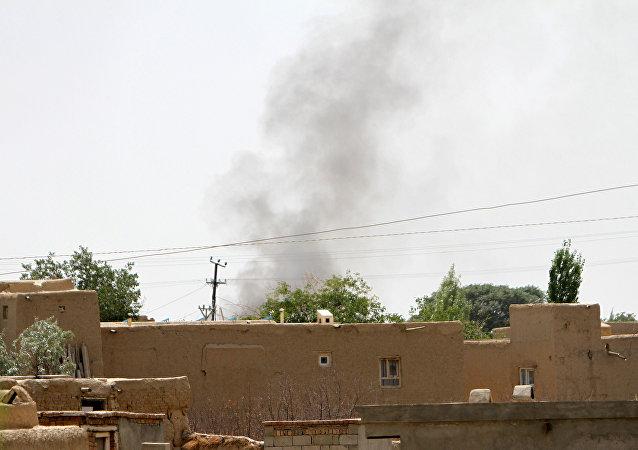 Ofensiva talibana en la provincia afgana de Ghazni