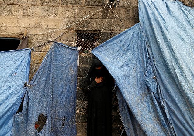 Una mujer yemení (imagen referencial)