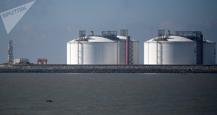 Los depósitos utilizados para almacenar el gas natural licuado en China