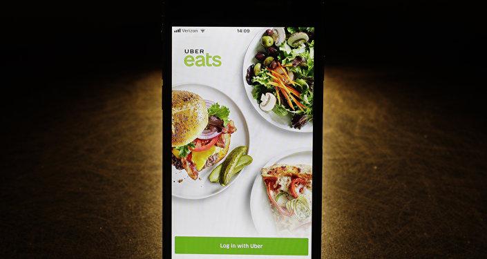 Aplicación Uber Eats