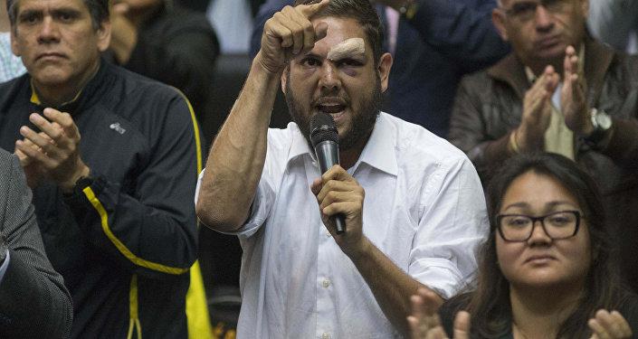 Juan Requesens, diputado venezolano (archivo)