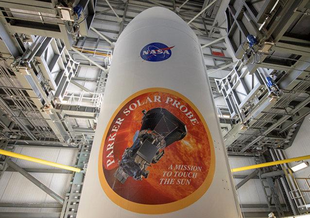 Emblema de Parker Solar Probe, sonda de la NASA