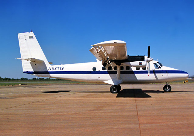 Un avión DHC-6 Twin Otter (imagen referencial)