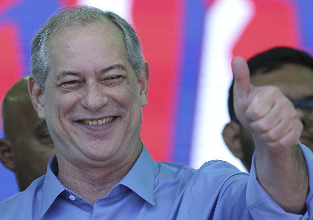Ciro Gomes, político brasileño por el Partido Democrático Laborista (archivo)