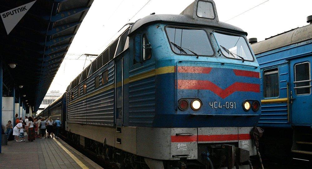 Un tren Kiev - Moscú