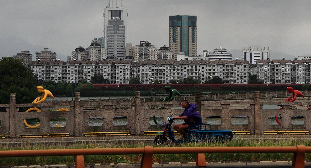 Situación en la provincia china de Zhejiang