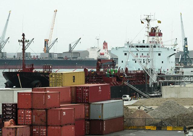 El puerto de Amberes