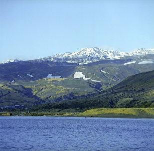 Isla Paramushir de las Kuriles