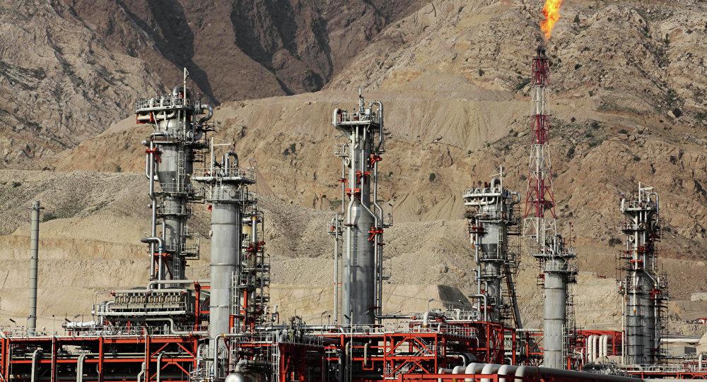 Una refinería de gas en Irán (archivo)