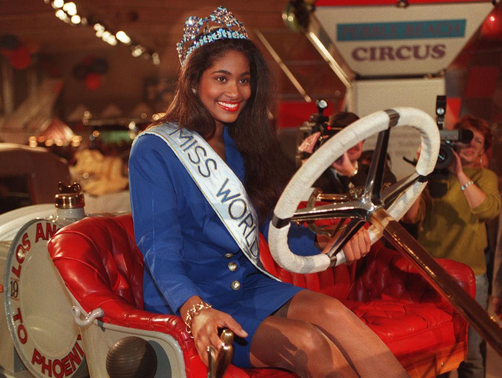 Miss Mundo 1993, Lisa Hanna