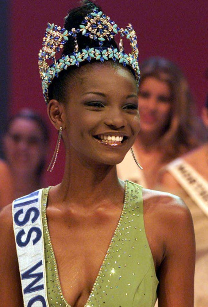 Miss Mundo 2001, Agbani Darego