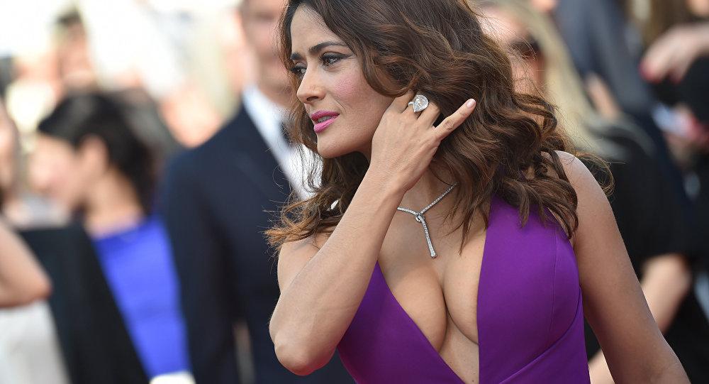 La actriz Salma Hayek