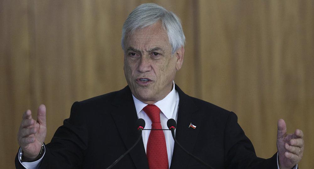 Sebastián Piñera, el presidente de Chile