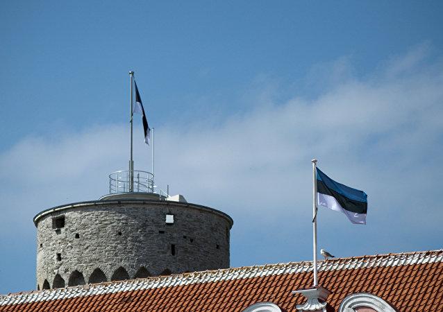 Banderas de Estonia