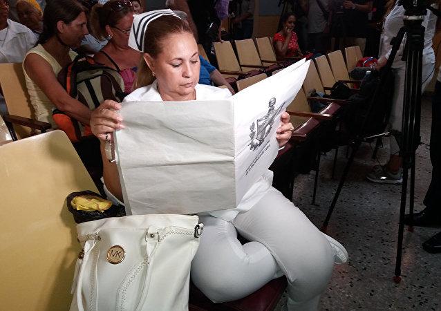 Trabajadores cubanos de la salud discuten proyecto de reforma constitucional