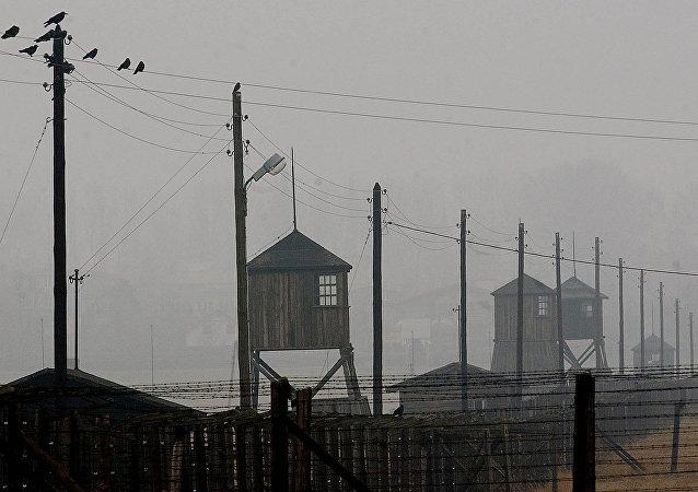 Un campo de concentración nazi ubicado en Polonia