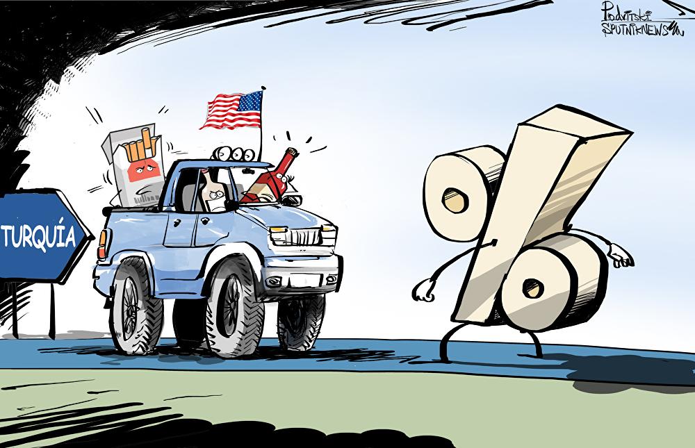 Donde las dan, las toman: Turquía ajusta las cuentas con EEUU