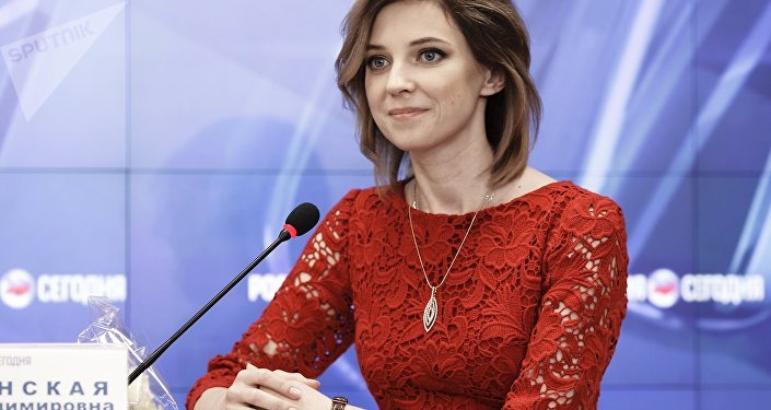 Natalia Poklónskaya, diputada rusa (archivo)