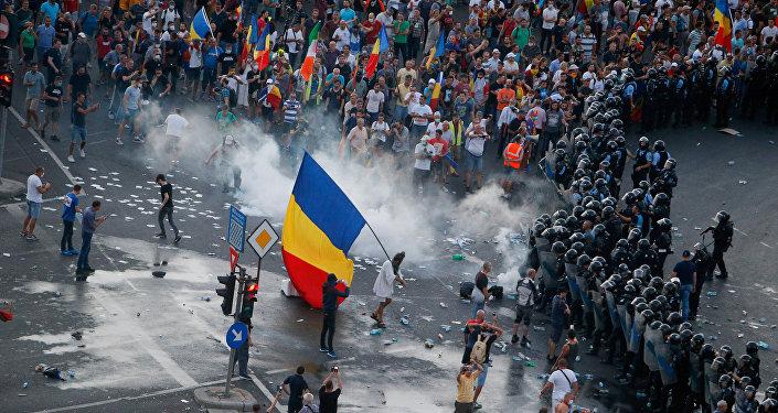 Las protestas en Rumania