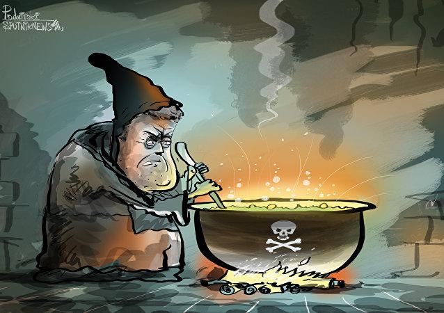 Ojos de sapo y lengua de tritón: el 'hechizo' de Poroshenko para el este de Ucrania
