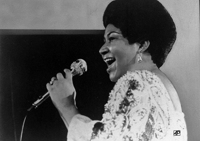 Aretha Franklin, cantante estadounidense