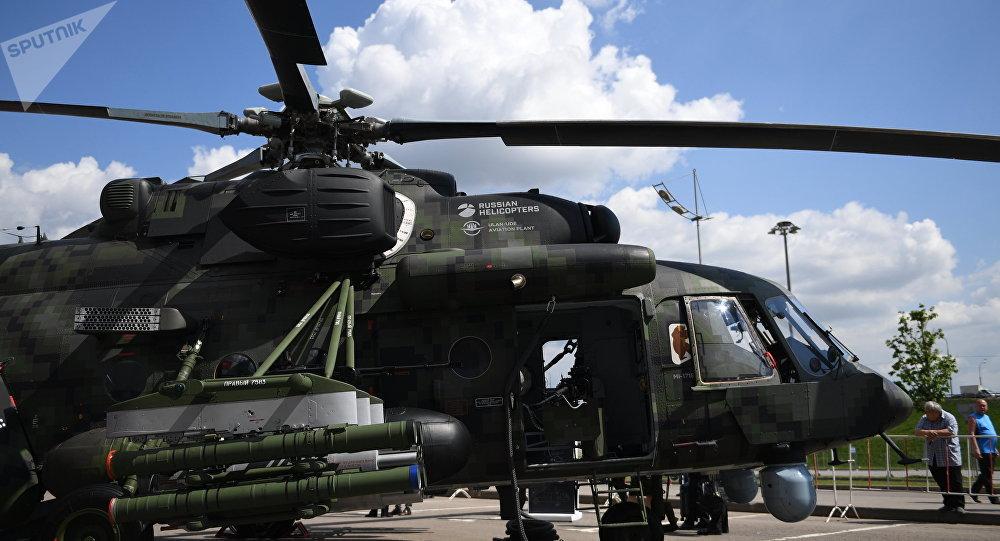 Helicóptero Mi-171 (archivo)