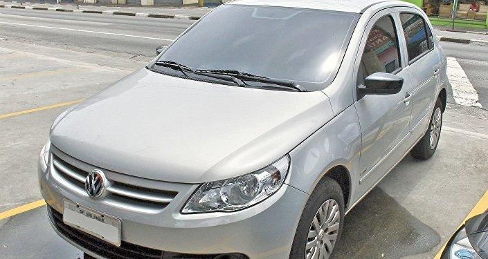 Un Volkswagen Gol, uno de los modelos más robados en Argentina