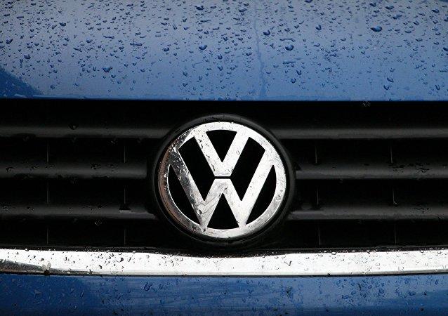 Un logo de Volkswagen