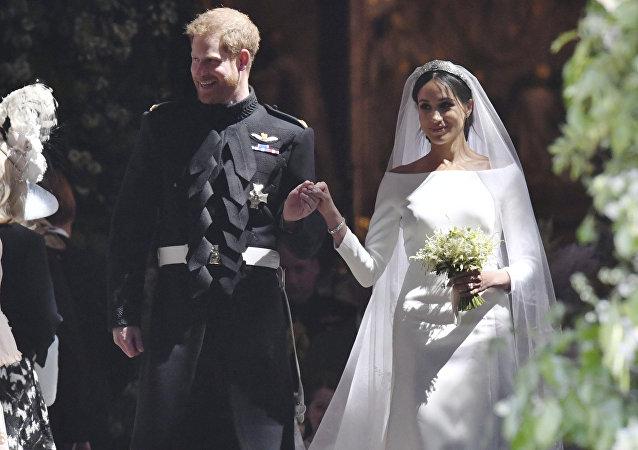 La boda de Meghan Markle y el príncipe Enrique