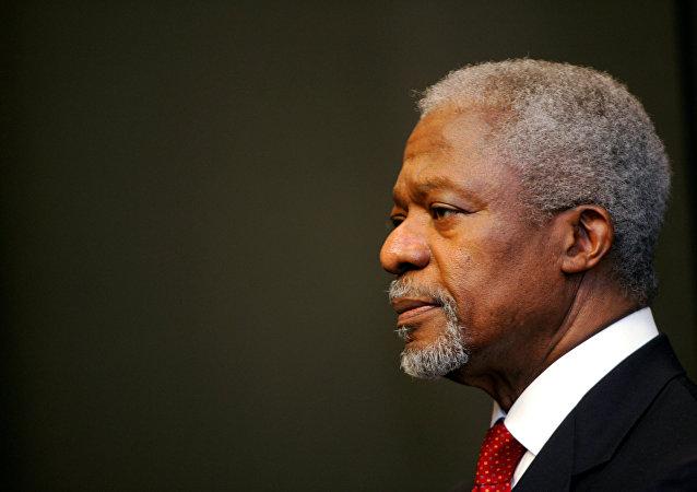 Kofi Annan, exsecretario general de la ONU
