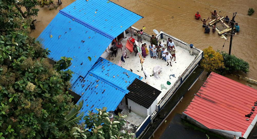Inundaciones en Kerala