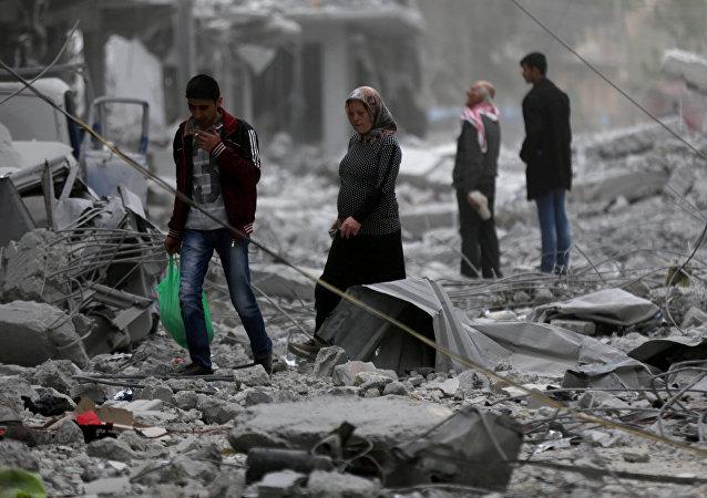 Situación en Siria, foto de archivo