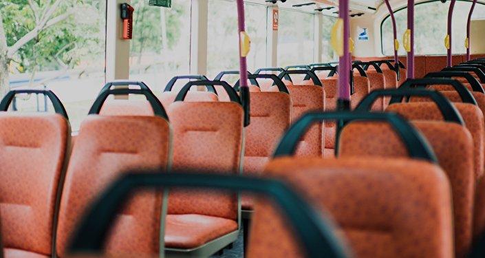 Un autobús (imagen referencial)