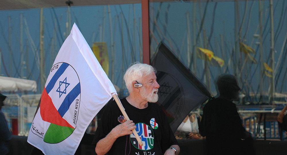 Uri Avnery, el pacifista israelí más conocido (archivo)