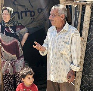 Refugiados sirios en el Líbano