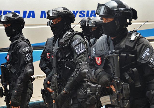 Unidad especial de la Policía de Malasia