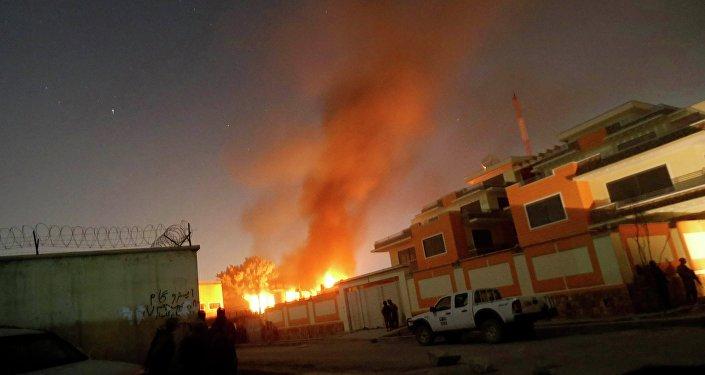 Ataque en Kabul (archivo)