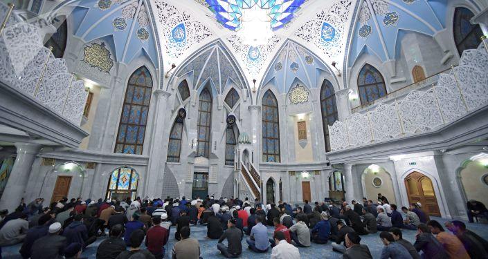La fiesta de Eid al Adha en la mezquita de Kazán