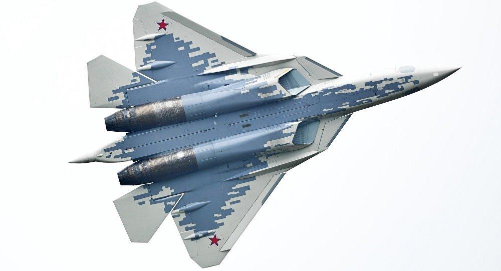 El caza ruso de quinta generación Su-57 (imagen referencial)