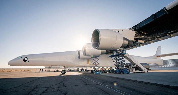Stratolaunch, aeronave más grande del mundo