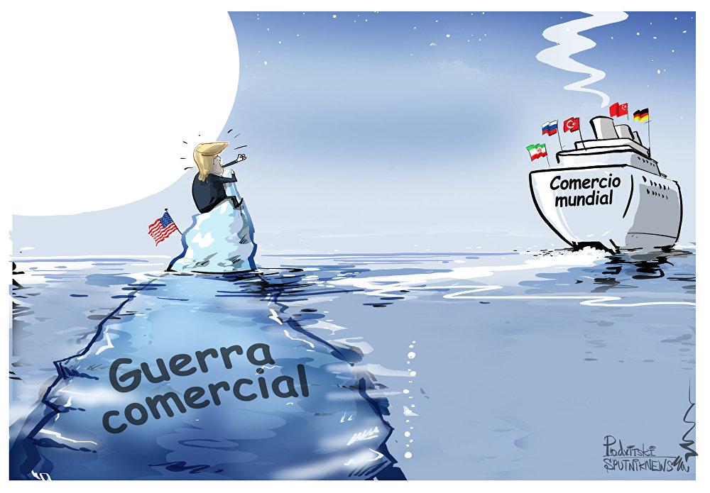 ¡Espérenme! A Trump se le escapa el barco