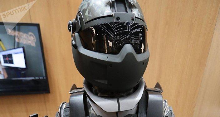 El prototipo del traje militar ruso de nueva generación Soldado del Futuro
